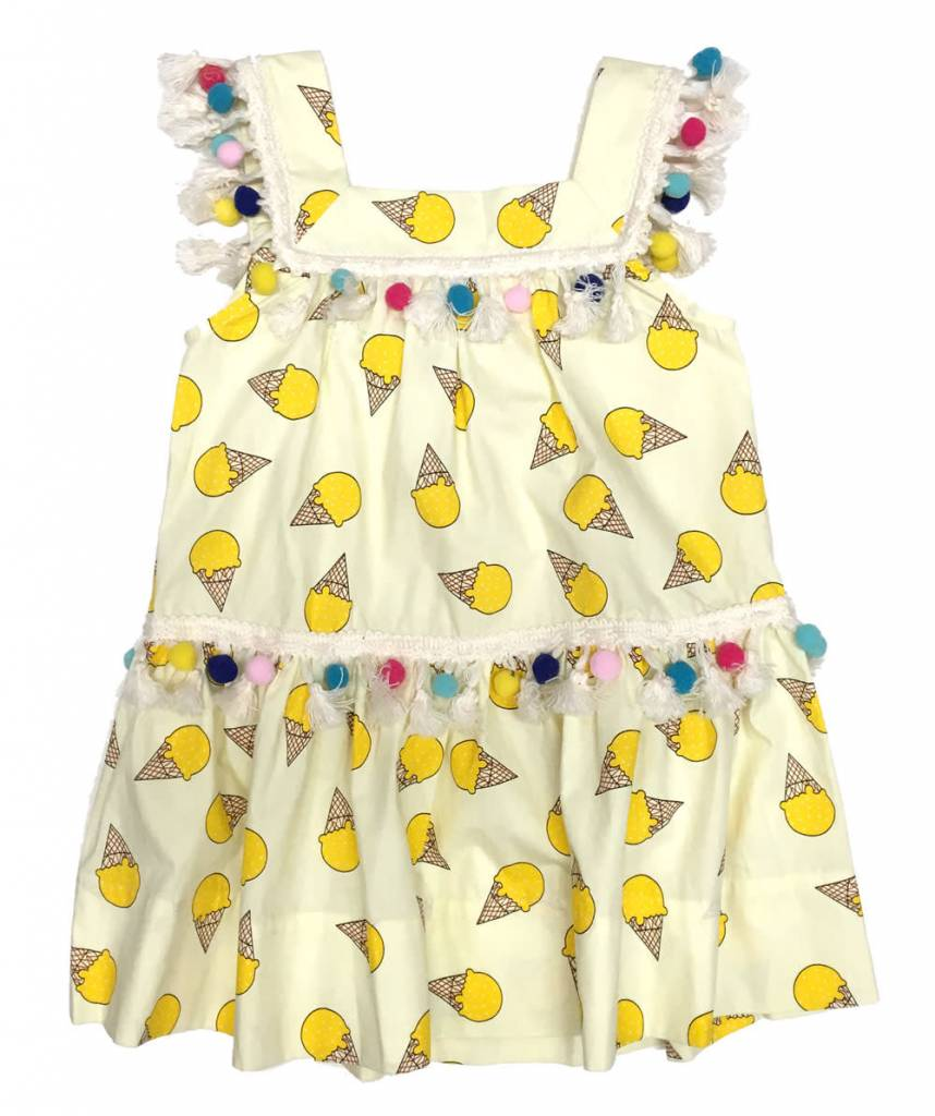 PEAS AND QUEUES Isla Dress