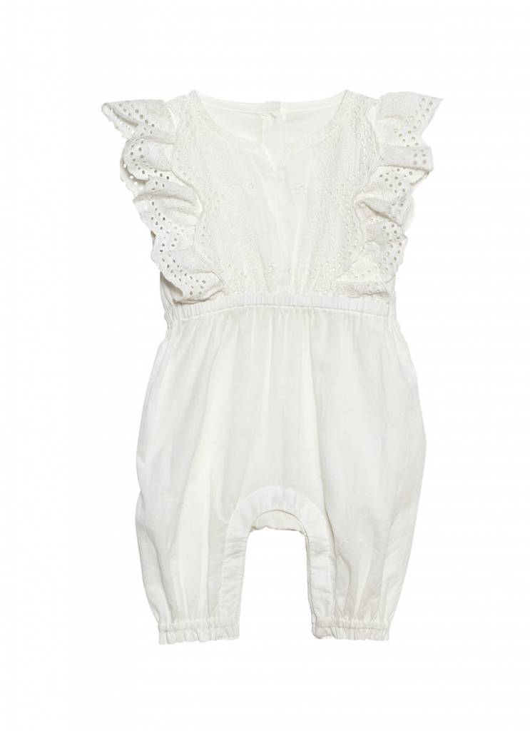 NUNUNU Carnation Kisses Romper