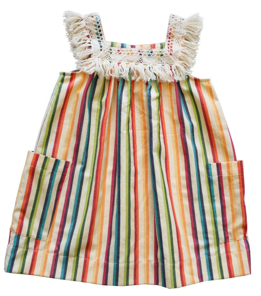 ANTHEM OF THE ANTS Fiesta Fringe Sundress