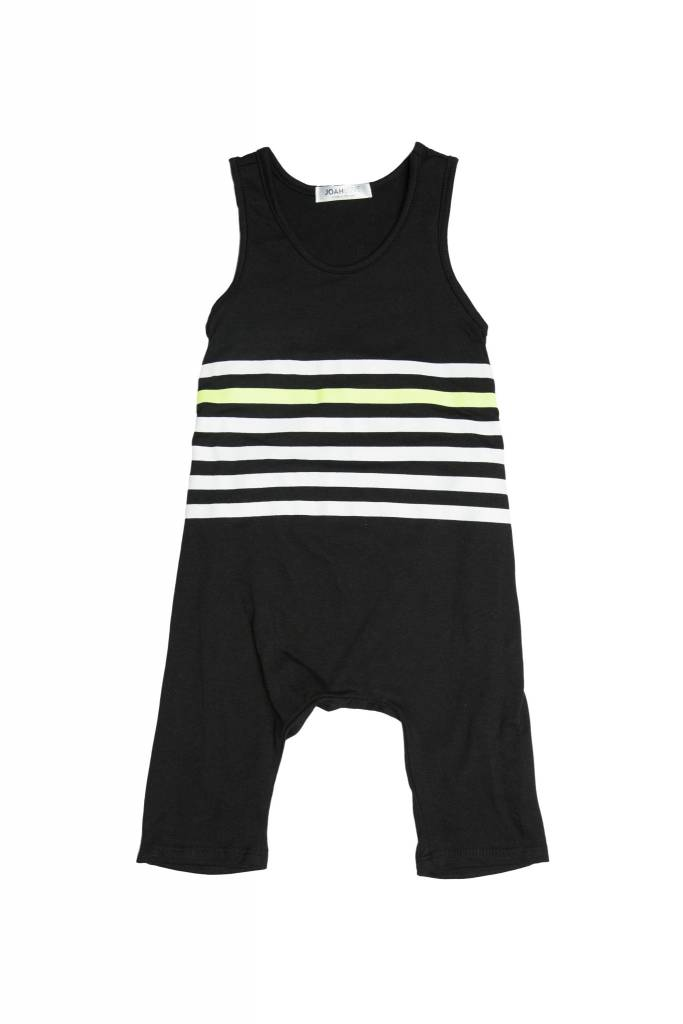 JOAH LOVE Stripe Print Playsuit