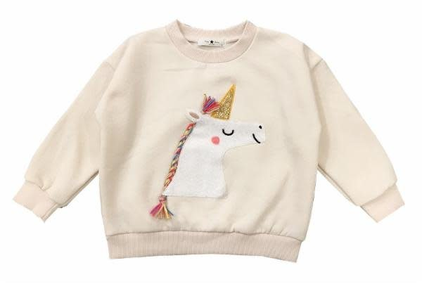 PETITE HAILEY Unicorn Sweatshirt
