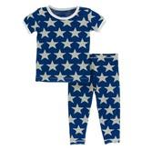 KICKEE PANTS Print Short Sleeve Pajama Set