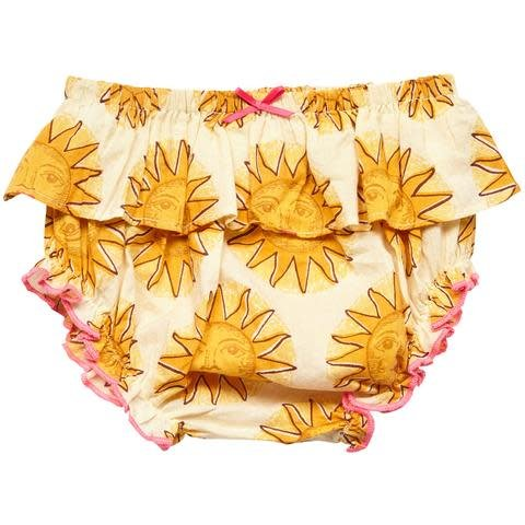 PINK CHICKEN Ruffle Diaper Cover
