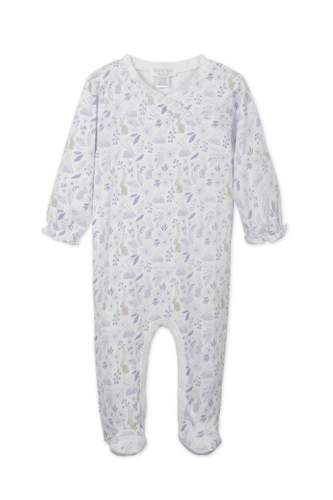 FEATHER BABY Crossover Footie