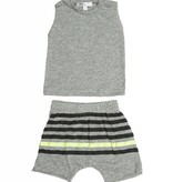 JOAH LOVE Muscle Tee with Printed Short Set