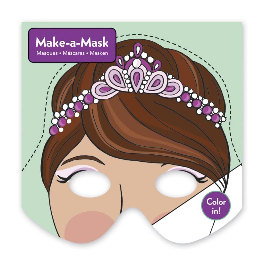 MUDPUPPY Princesses Make-a-Mask
