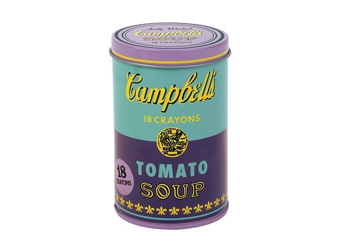 MUDPUPPY Andy Warhol Purple Soup Crayons