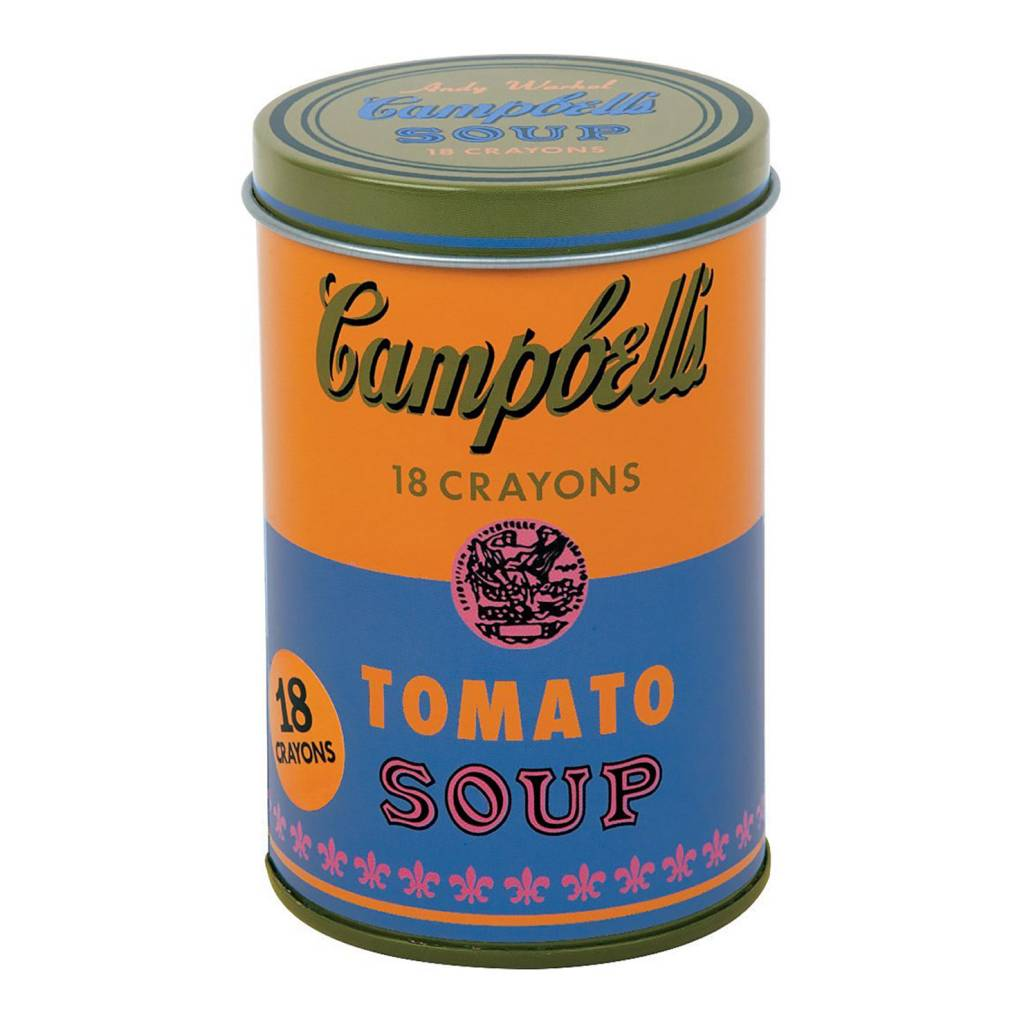 MUDPUPPY Andy Warhol Soup Can Crayons