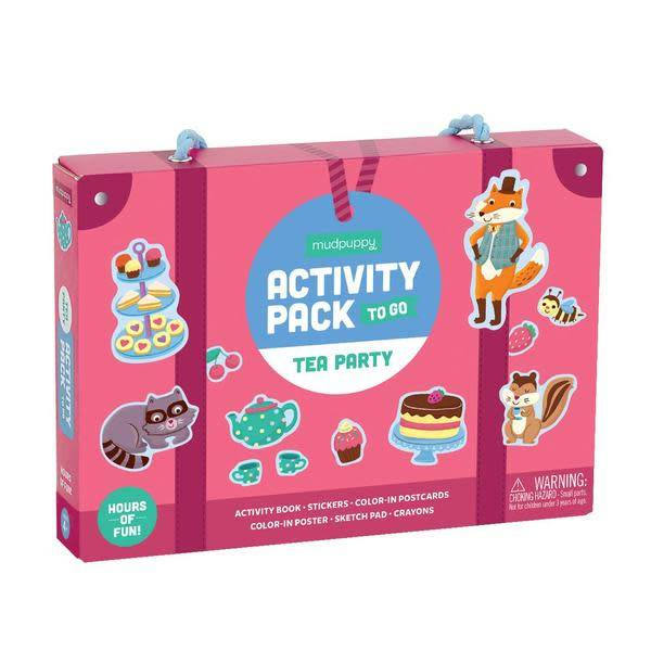 MUDPUPPY Tea Party Activity Pack