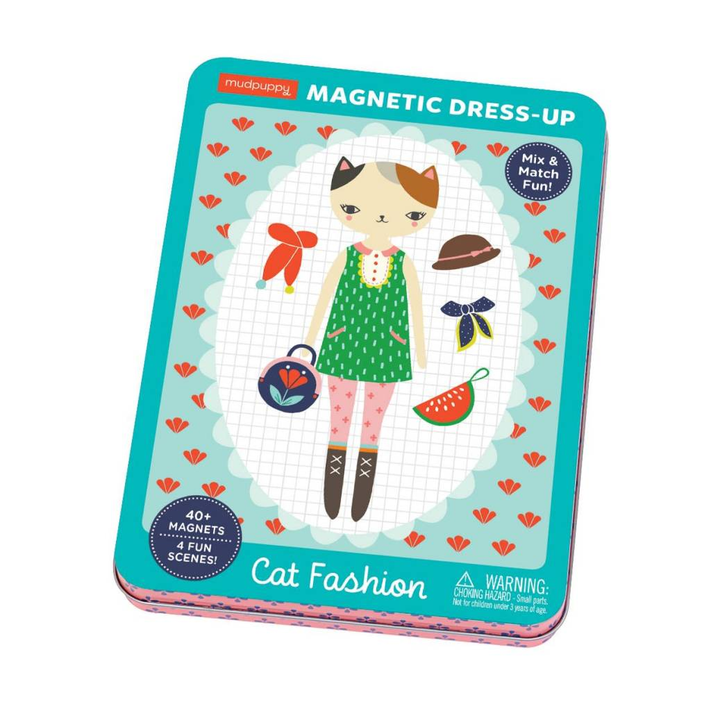MUDPUPPY Cat Fashion Magnetic Dress Up
