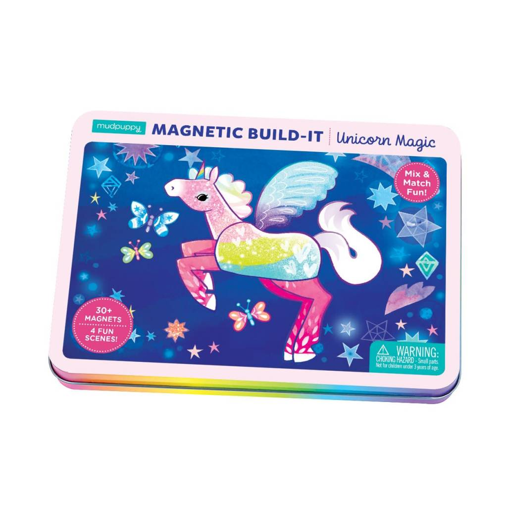 MUDPUPPY Unicorn Magic Magnetic Build-it
