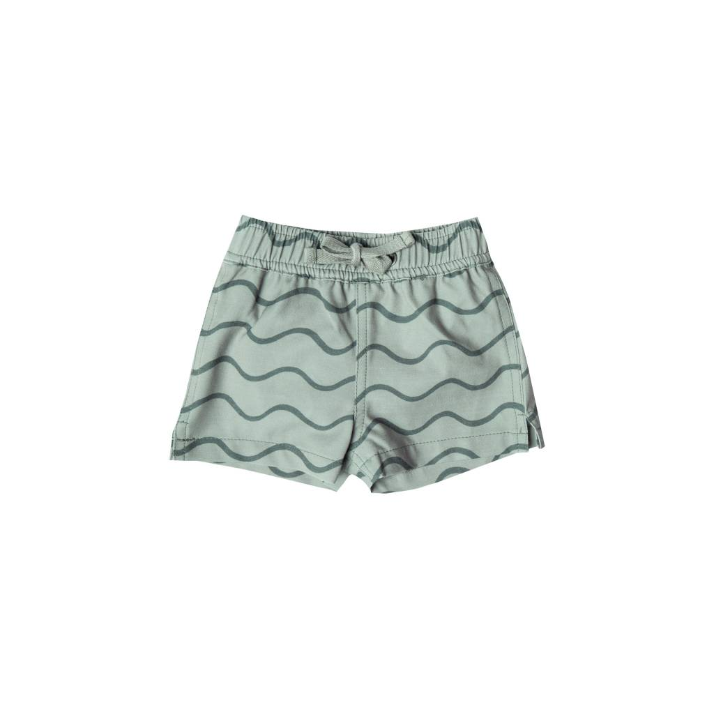 RYLEE AND CRU Rolling Waves Baby Swimtrunk