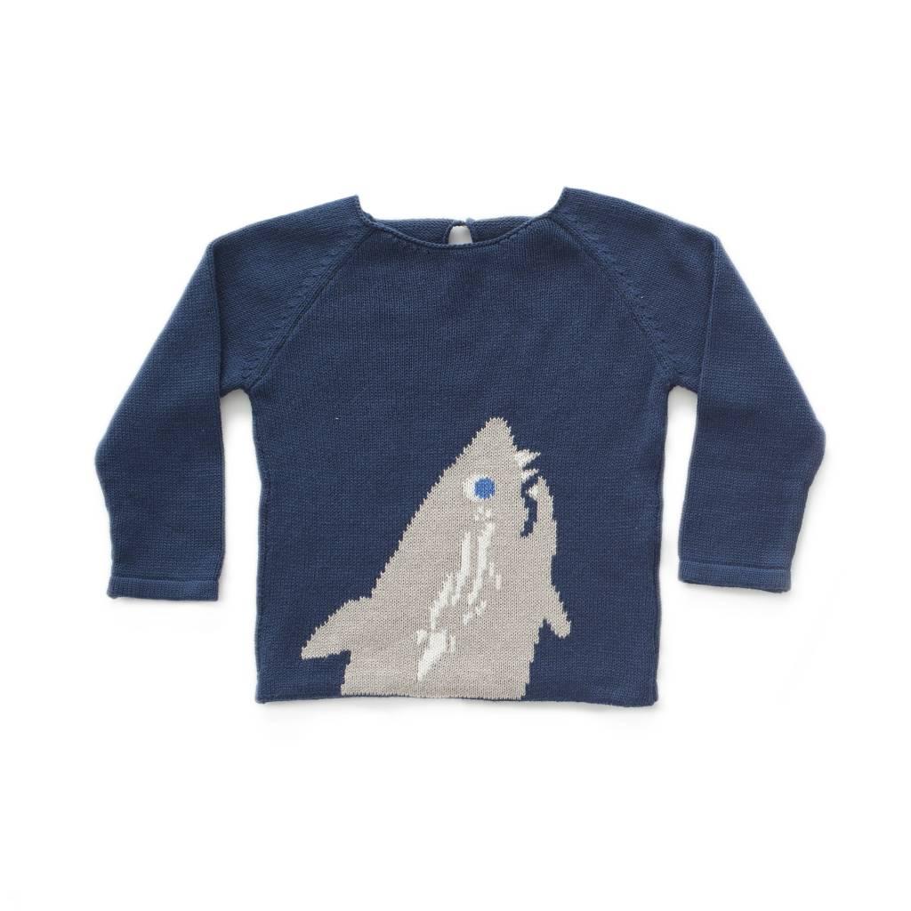 OEUF Shark Sweater