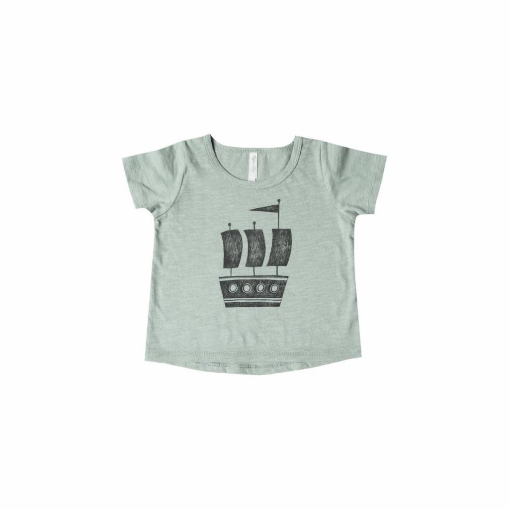 RYLEE AND CRU Ship Baby T-Shirt