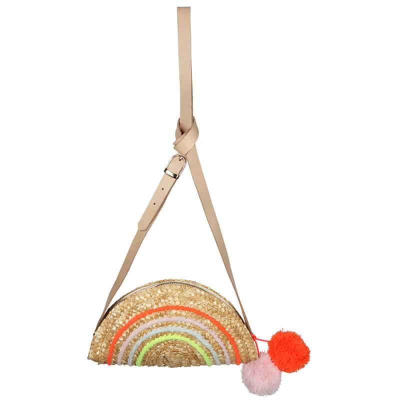 MERI MERI Rainbow Seagrass Bag