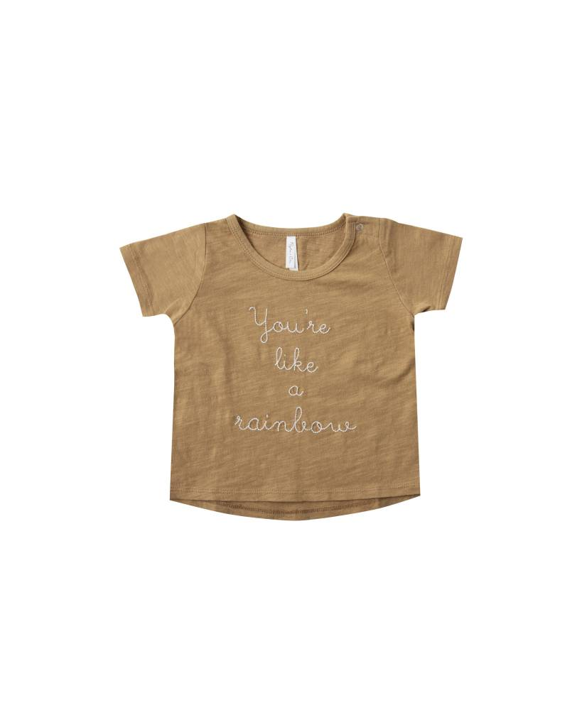 RYLEE AND CRU Baby Rainbow Basic Tee