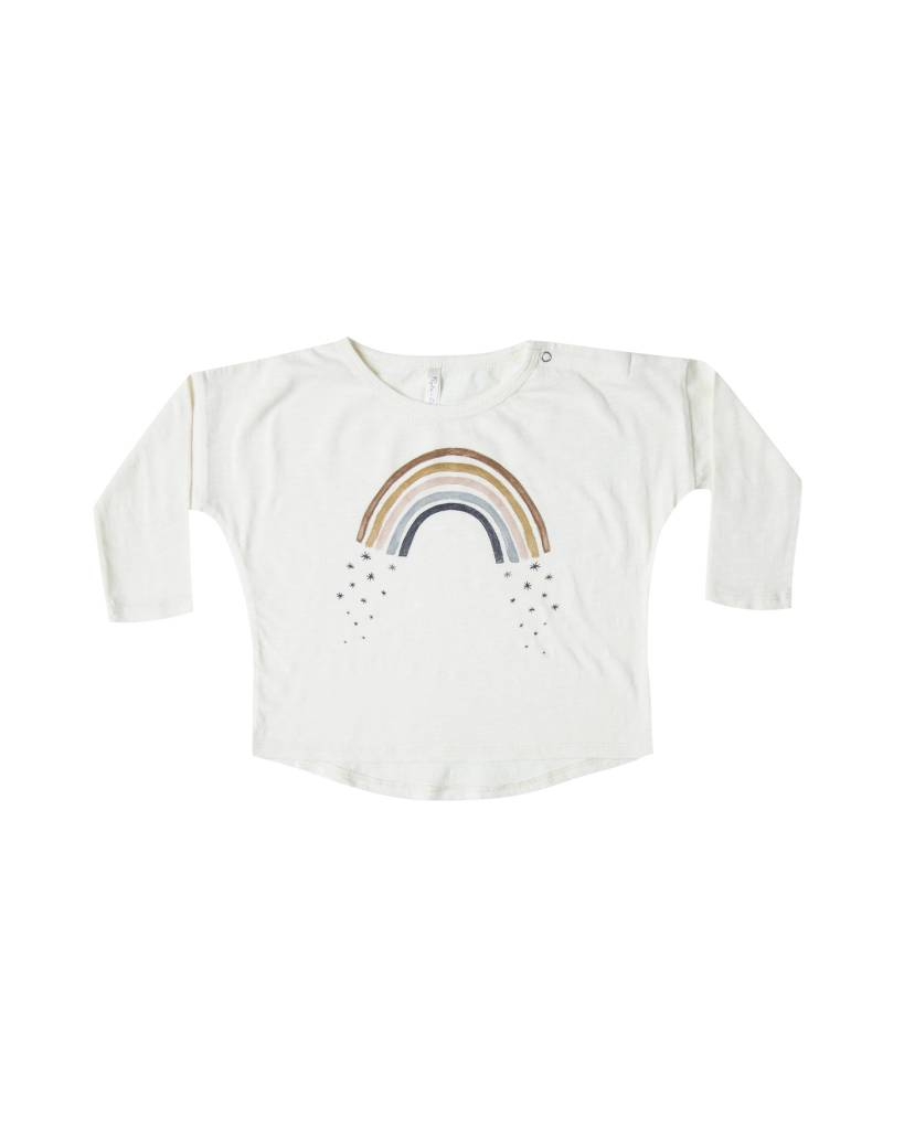 RYLEE AND CRU Baby Rainbow Long Sleeve Tee