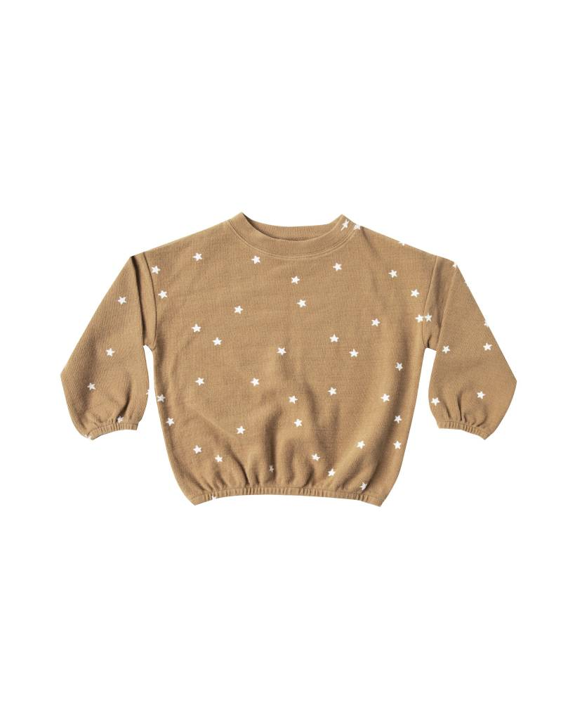 RYLEE AND CRU Stars Slouchy Pullover