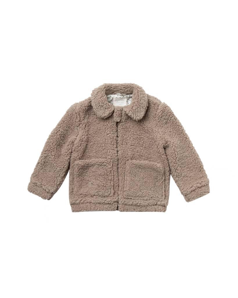 Baby Shearling Overcoat