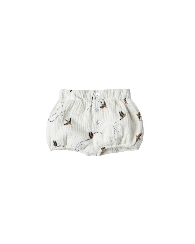 RYLEE AND CRU Sparrow Button Short
