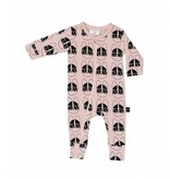 HUX BABY French Shades Zip Romper