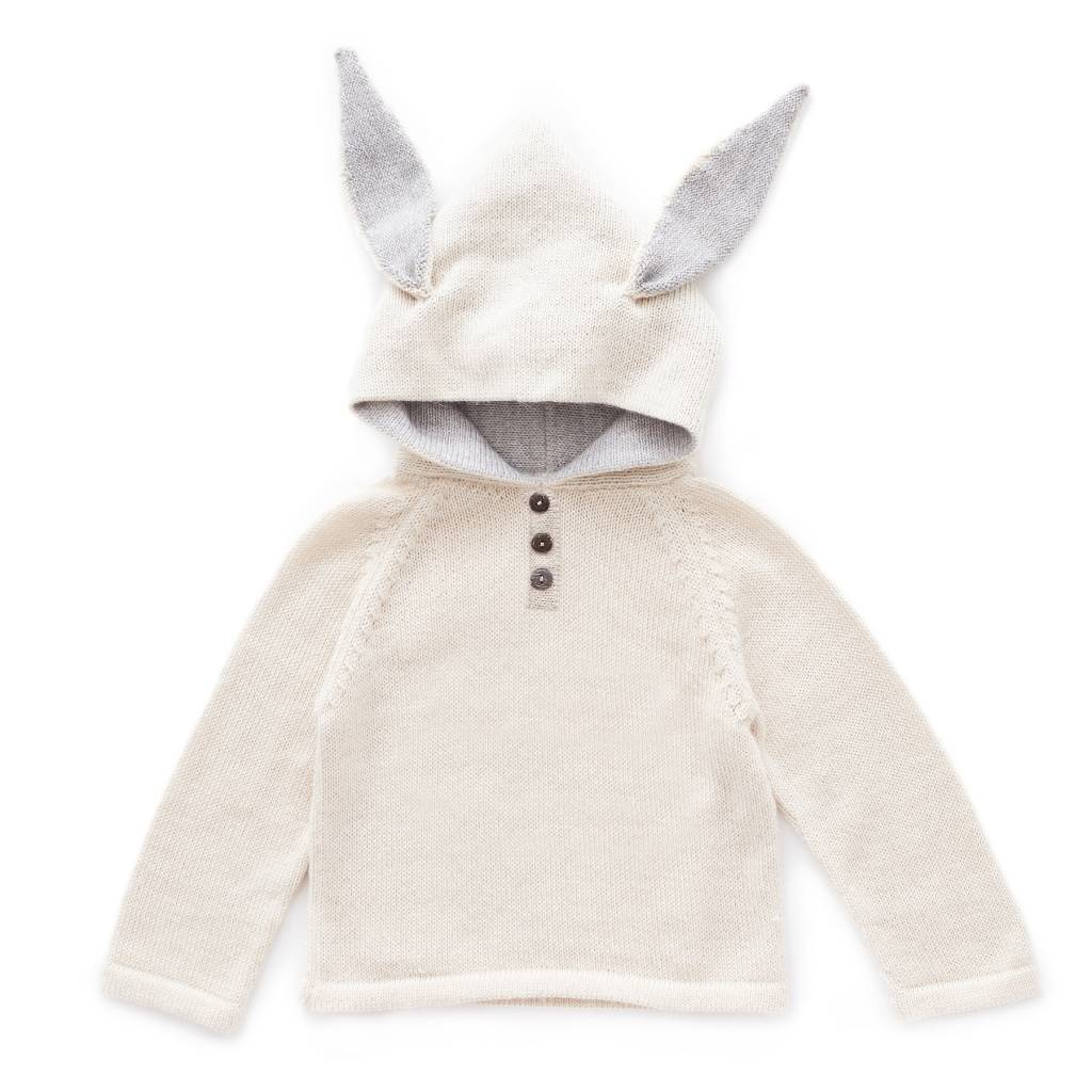 OEUF Bunny Hooded Sweater