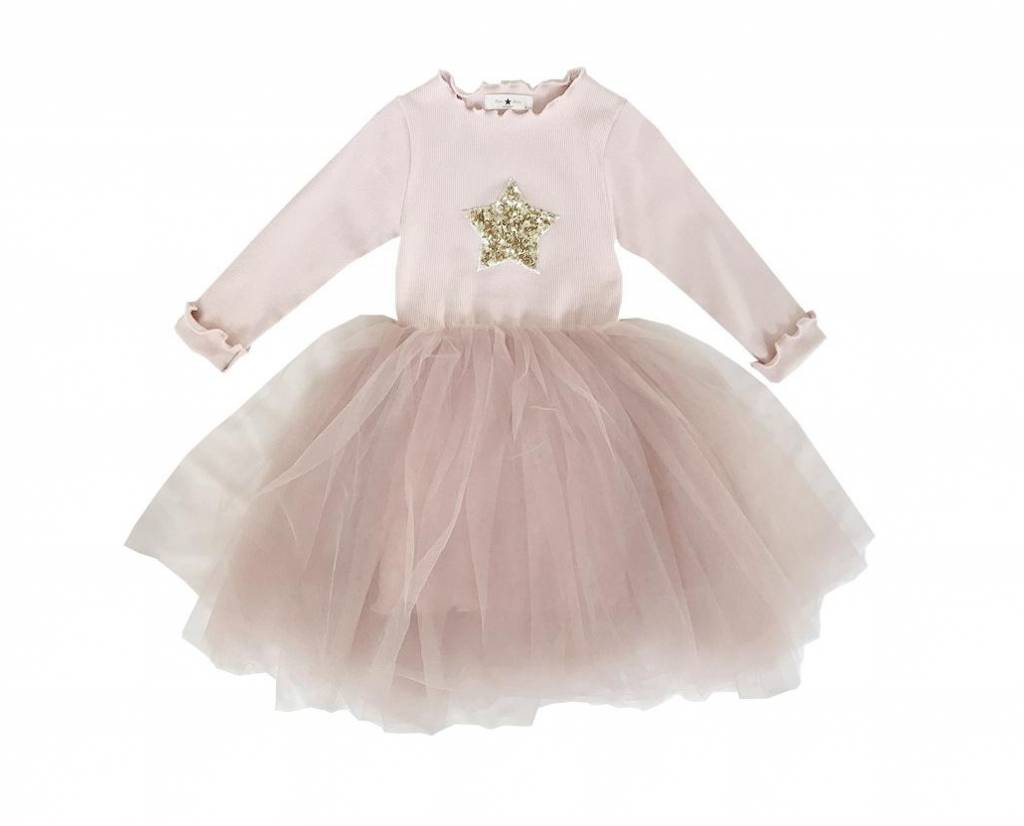 PETITE HAILEY Tutu Star Dress