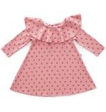 OEUF Baby Ruffle Collar Dress