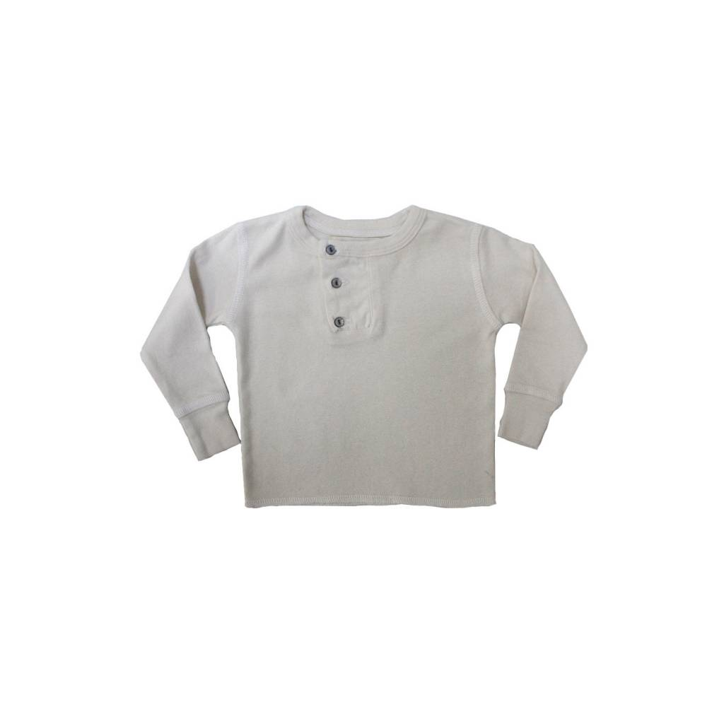 GOGENTLYNATION Wide Placket Henley