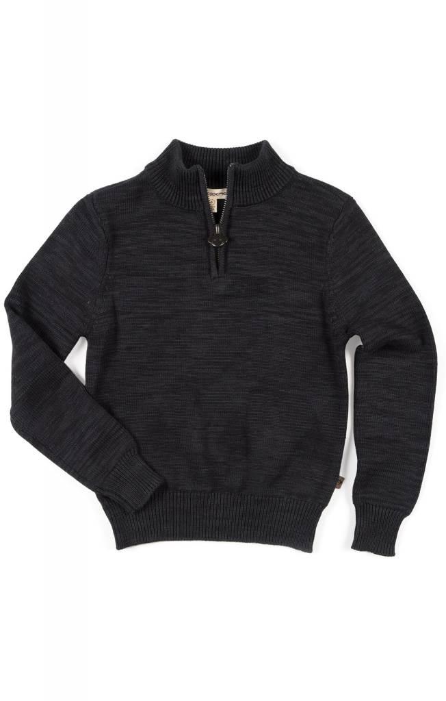 APPAMAN Mock Neck Sweater