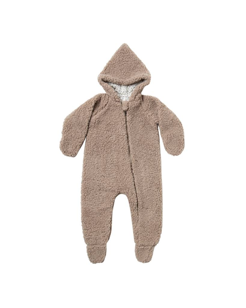 RYLEE AND CRU Baby Fur Jumpsuit