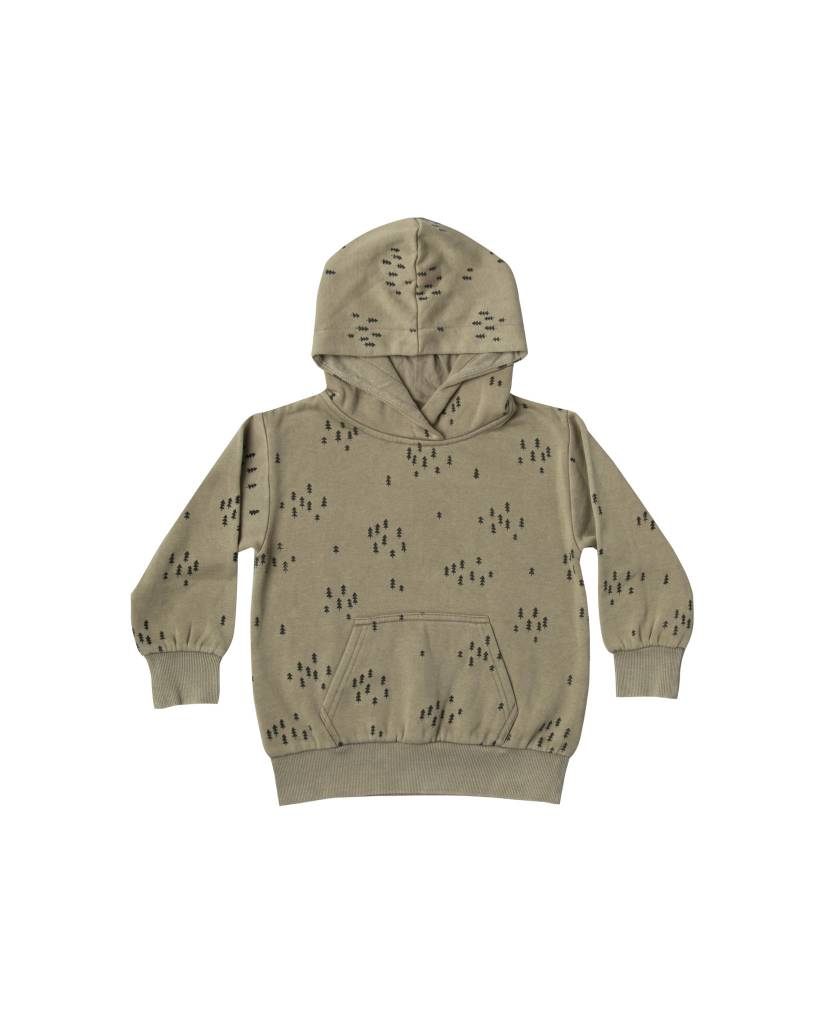 RYLEE AND CRU Evergreen Basic Hoodie