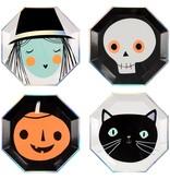MERI MERI Halloween Characters Plates