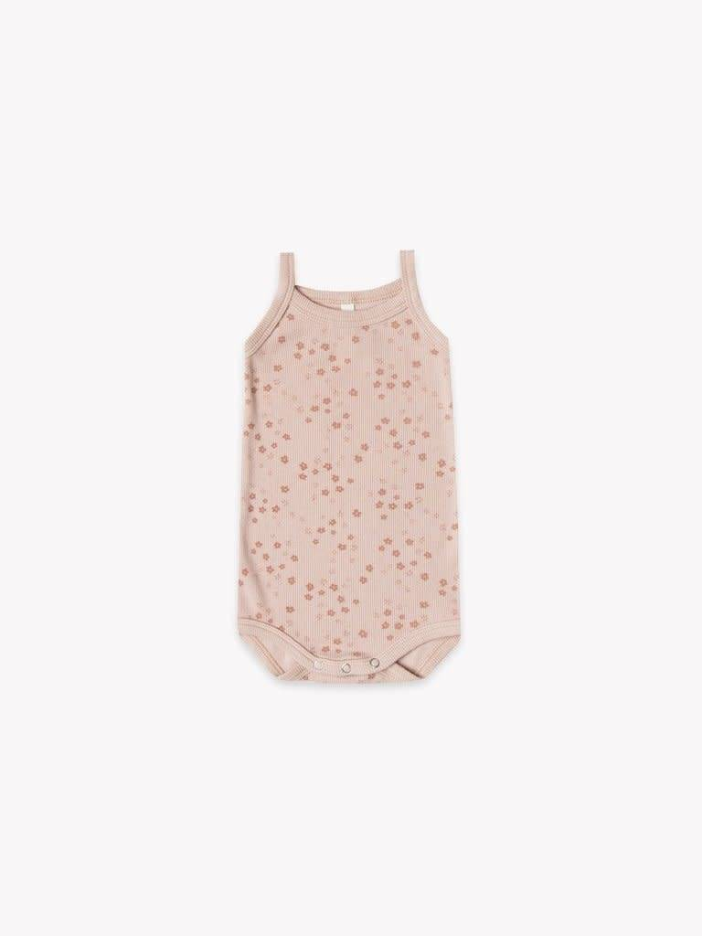 Quincy Mae Organic Ribbed Tank Onesie