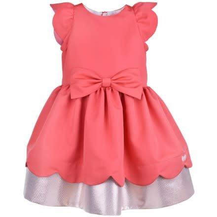 HUCKLEBONES Scalloped Bodice Dress