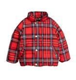 MINI RODINI Check Puffer Jacket