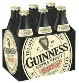 Guinness Stout Bottles 6pk - 12oz