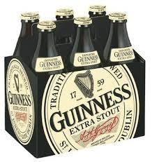 Guinness Extra Stout Bottles 6pk - 12oz