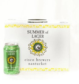 Cisco Brewers Summer of Lager Cans 12pk - 12oz
