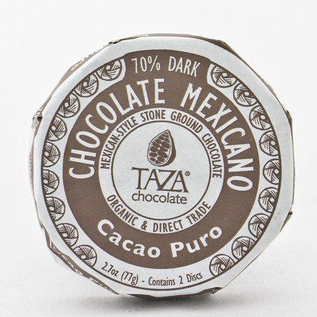 Taza Chocolate Round Cacao Pure 70%