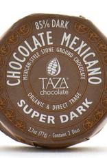 Taza Chocolate Round Super Dark 85%