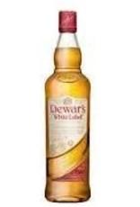 """Dewars Scotch """"White Label"""" 750ml"""
