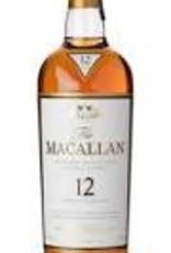 Macallan 12 Year Scotch 750ml