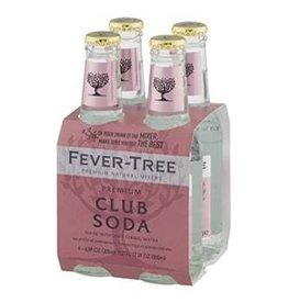 Fever Tree Club Soda 4pk - 6.8oz