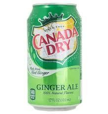 Canada Dry Ginger Ale Can 12oz