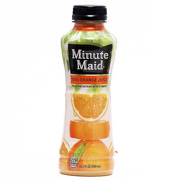 Minute Maid Orange Juice 12 oz