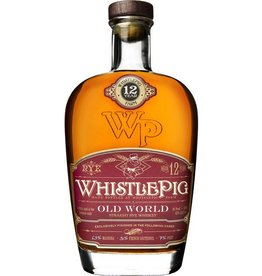 "Whistle Pig 12 year ""Old World"" Rye 750ml"