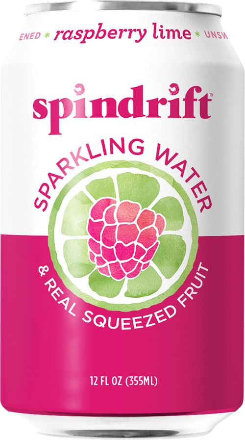 Spindrift Sparkling Water Raspberry-Lime Can - 12oz