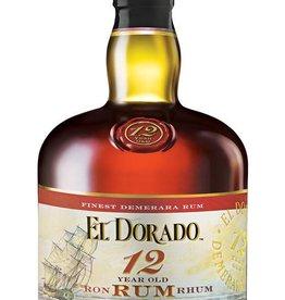 El Dorado 12 Year Old Rum 750ml