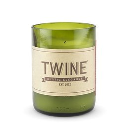 Upcycled Wine Bottle Unscented Candle